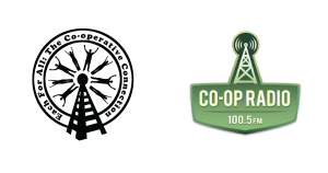 BCCA Co-op Week Innovation Forum Media Sponsors (Each For All - The Co-operative Connection, Vancouver Co-op Radio)