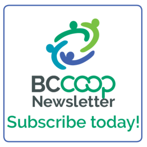 BCCA newsletter subscription button
